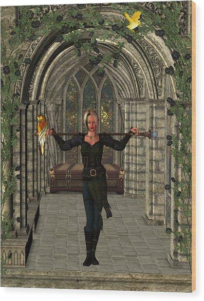 Elvin Hallway Wood Print