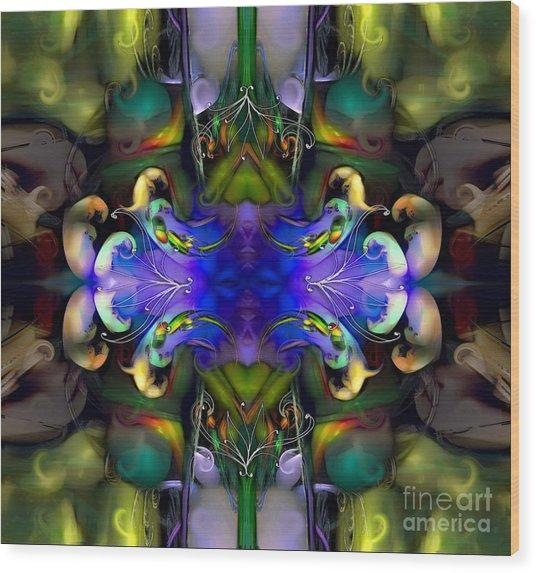Embryonic Journey Wood Print