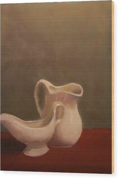 Emergence Of Ceramic Wood Print by Krishnamurthy S