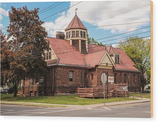 Emily Williston Memorial Library And Museum Wood Print
