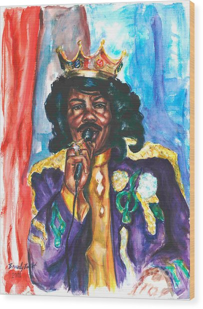 Emperor Of The Universe Wood Print