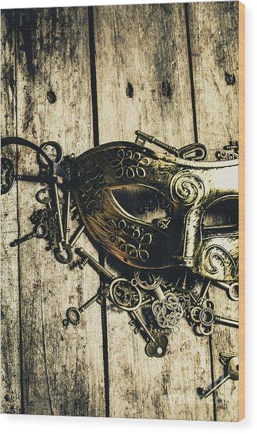 Emperors Keys Wood Print