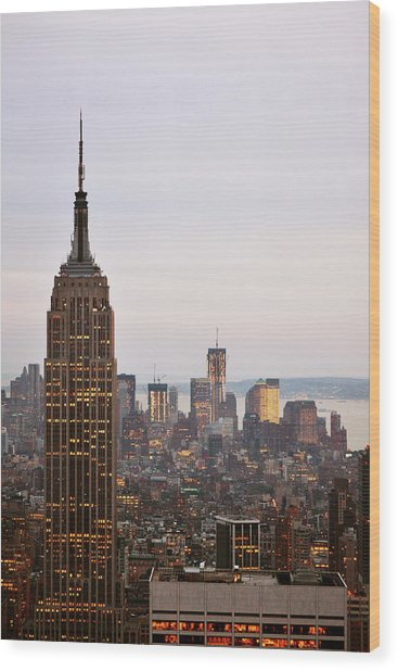 Empire State Building No.2 Wood Print