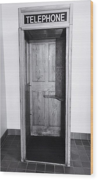 Empty Calling Wood Print