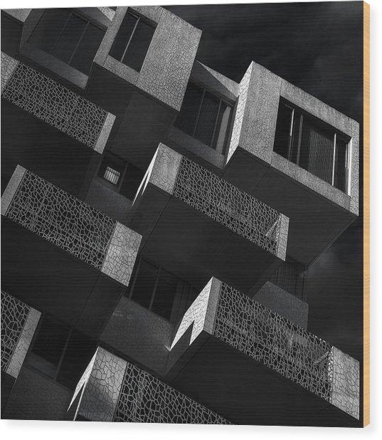 En Bloc Wood Print