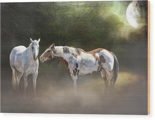 Enchanted Evening Wood Print