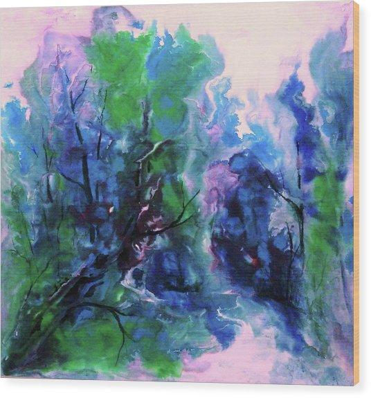 Enchanting Wood Print by Sharon K Wilson