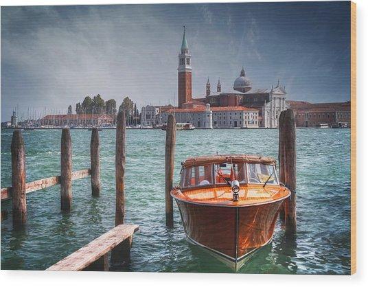 Enchanting Venice Wood Print