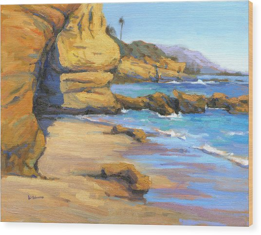 End Of Summer / Laguna Beach Wood Print