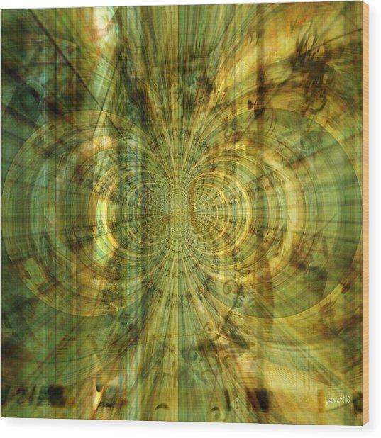 Endless Imagination Wood Print by Fania Simon