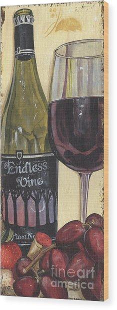Endless Vine Panel Wood Print