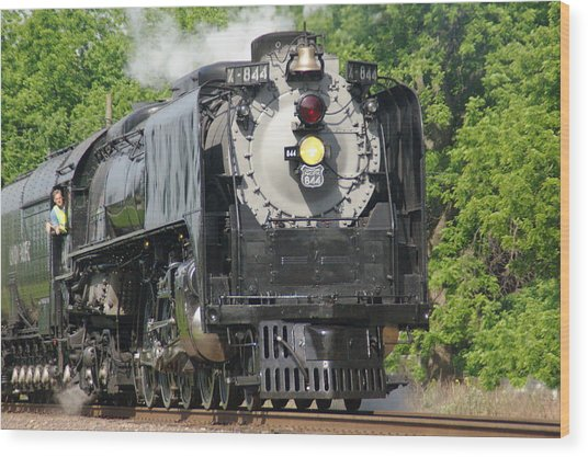 Engine X-844 Wood Print
