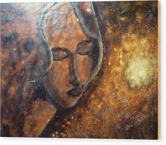 Enlightenment Wood Print by Karla Phlypo-Price