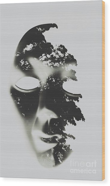 Enlightenment Within Wood Print