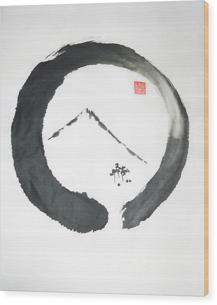 Enso Noble Wood Print