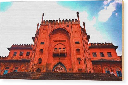 #entrance Gate Wood Print