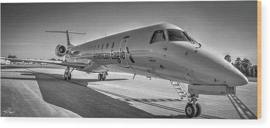 Envoy Embraer Regional Jet Wood Print