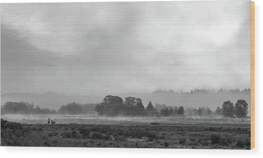 Epic Haze Wood Print