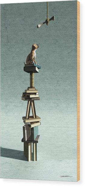 Equilibrium Vi Wood Print