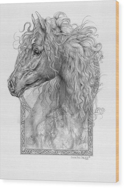 Equus Caballus - Horse - The Divine Gift Wood Print