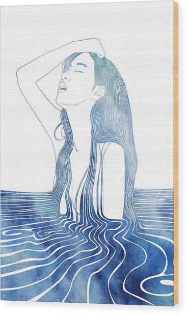 Erato Wood Print