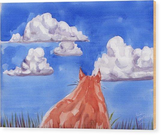 Ernesto's Dream Wood Print