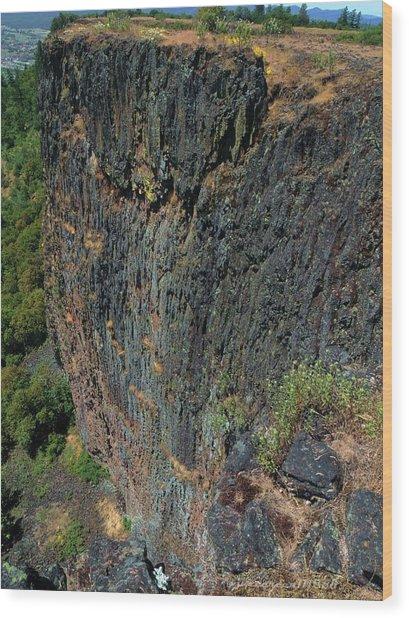 Erosion Of Flow Wood Print