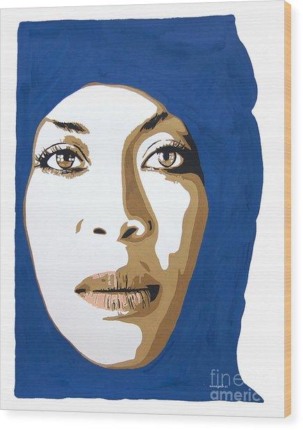 Erykah Badu. Mama's Gun. Wood Print