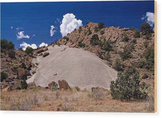 Escalante Mound Wood Print