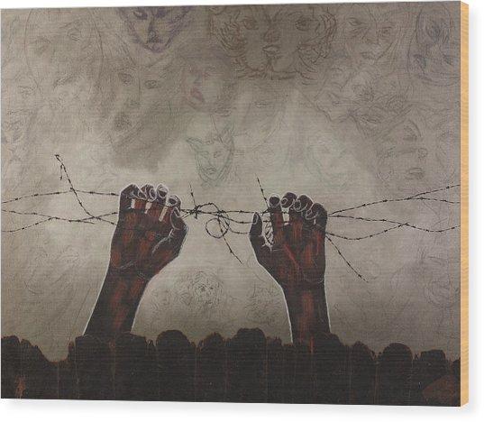 Escape Da Obscuridade Wood Print by Arnuda