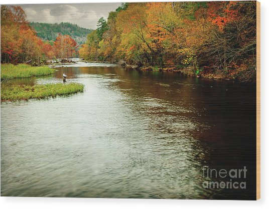 Escape To Beaver's Bend Wood Print