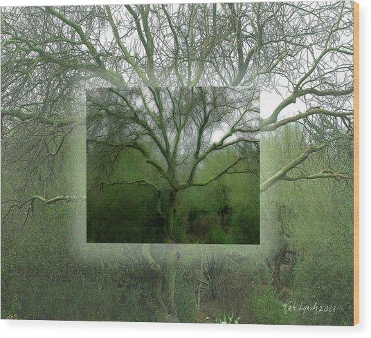 Espiritu Del Arbol Wood Print