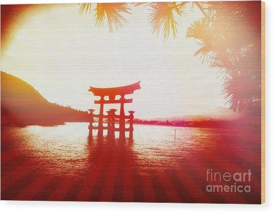 Eternal Japan Wood Print