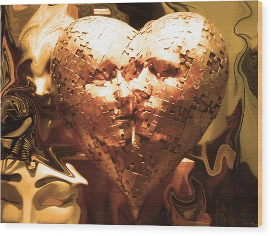 Eternal Kisses Wood Print by Edan Chapman