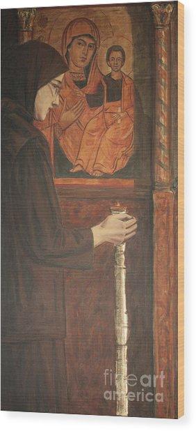 Eternal Light Wood Print