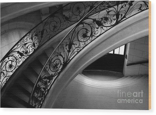 Eternal Staircase Wood Print