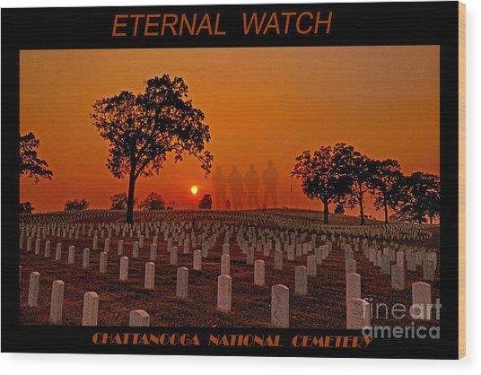 Eternal Watch Wood Print