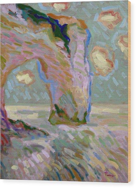 Etretat -1 Wood Print