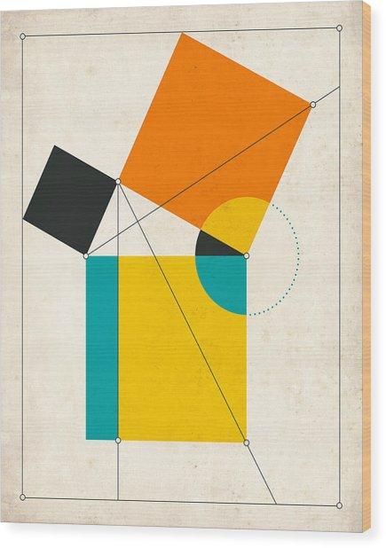 Euclid Wood Print