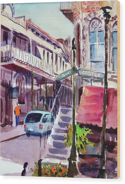 Eureka Springs Ak 2 Wood Print