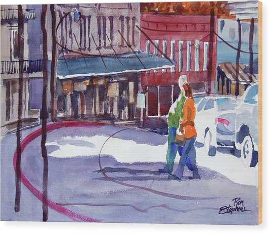 Eureka Springs Ak 3 Wood Print