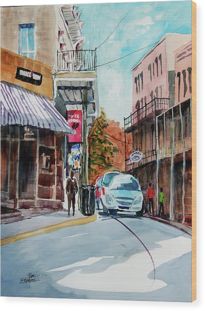 Eureka Springs Ak 7 Wood Print