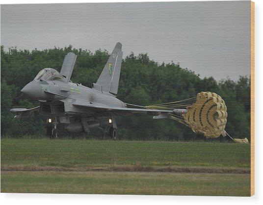 Eurofighter Typhoon Fgr4 Wood Print