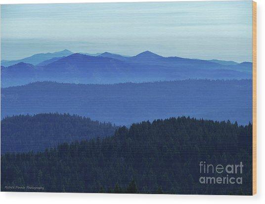 Oregon Blues  Wood Print