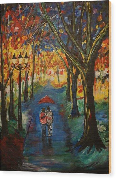 Everlasting Love Wood Print