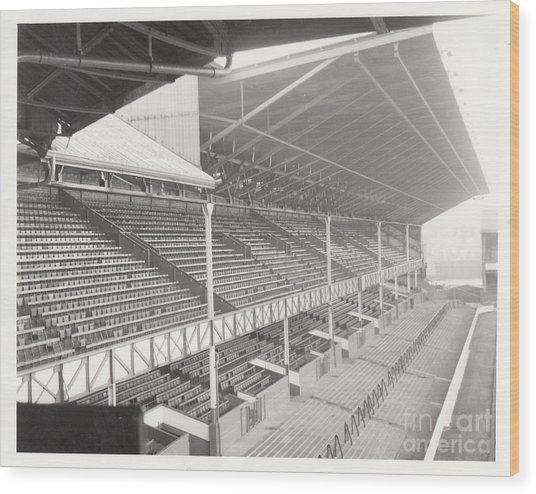 Everton - Goodison Park - East Stand Bullens Road 1 - Leitch - August 1969 Wood Print