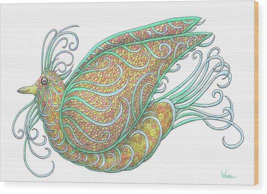 Exotic Bird IIi Wood Print