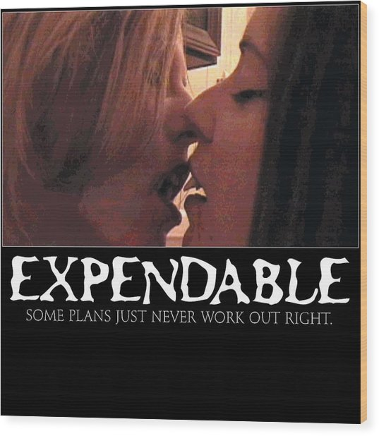 Expendable 11 Wood Print
