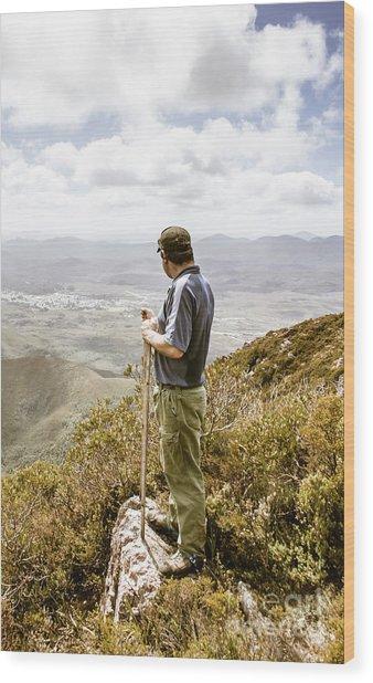 Explore Tasmania Wood Print
