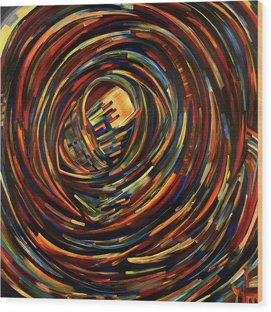 Eye Of The Cosmos Wood Print